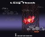 Trang bìa tập thơ của Lãng Thanh.