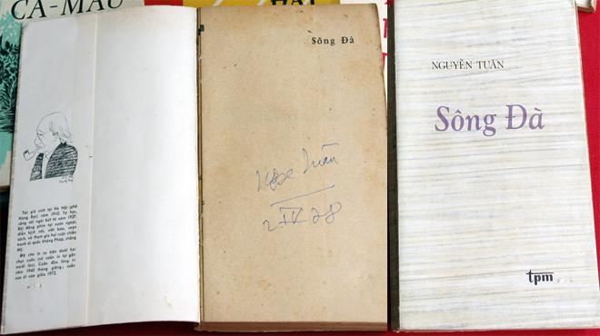 Tập ký Sông Đà với chữ ký của Nguyễn Tuân sẽ đưa ra đấu giá