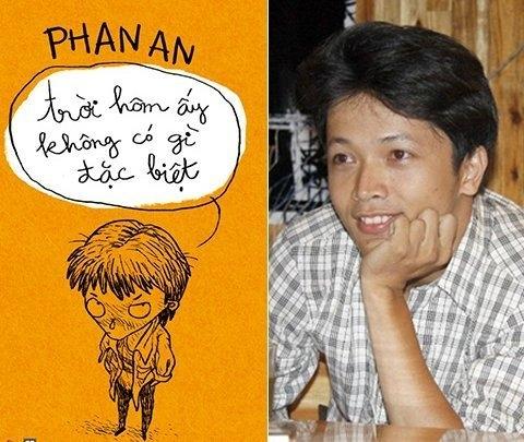 """Phan An và cuốn sách thứ hai """"Trời hôm ấy không có gì đặc biệt"""""""