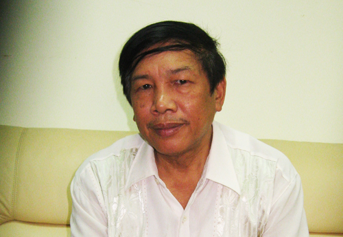 Nhà văn Khuất Quang Thuỵ