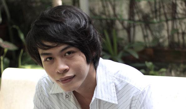 Tác giả trẻ Lưu Quang Minh